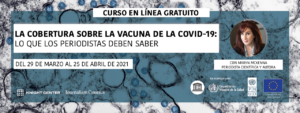 Spanish banner for COVID vaccines MOOC